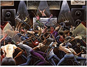 Jump Off by Frank Morrison Art Print, 36 x 27 inches