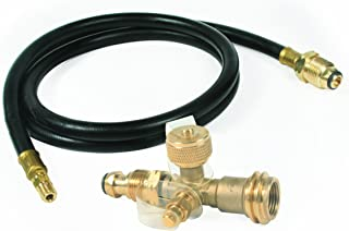 Camco 59125 Propane Brass Tee with 5' Hose