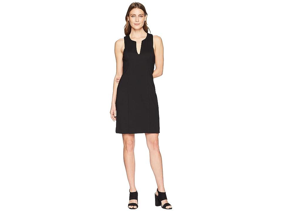 Karen Kane Stretch Sheath Dress (Black) Women