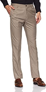 Park Avenue Men's Relaxed Fit Formal Trousers (PMTX05497-G3_Medium Grey_86)