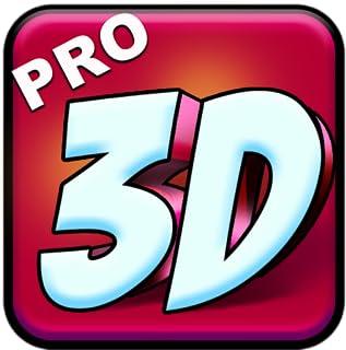 3Dテキストアート - デザインフォントロゴ