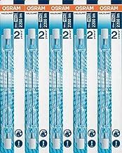 5x ampoules halogène Osram Haloline Pro R7s 118mm 230V 120W 64696