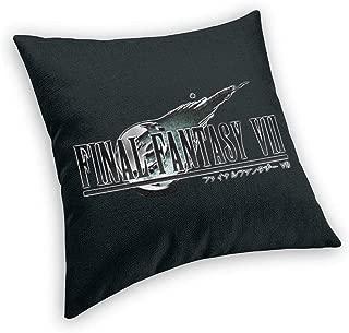 NanZYang Final Fantasy VII Pillow Cases Covers Home Sofa Bed Standard Square Velvet Throw Pillowcase Protectors Zipper 16x16 18x18 20x20 22x22 24x24 26x26 Inches