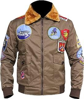 Top Gun Tom Cruise Jet Fighter Bomber Jacket TopGun Cordura Jacket