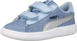 Baby-Girls Smash V2 Glitz Glam Velcro Sneaker
