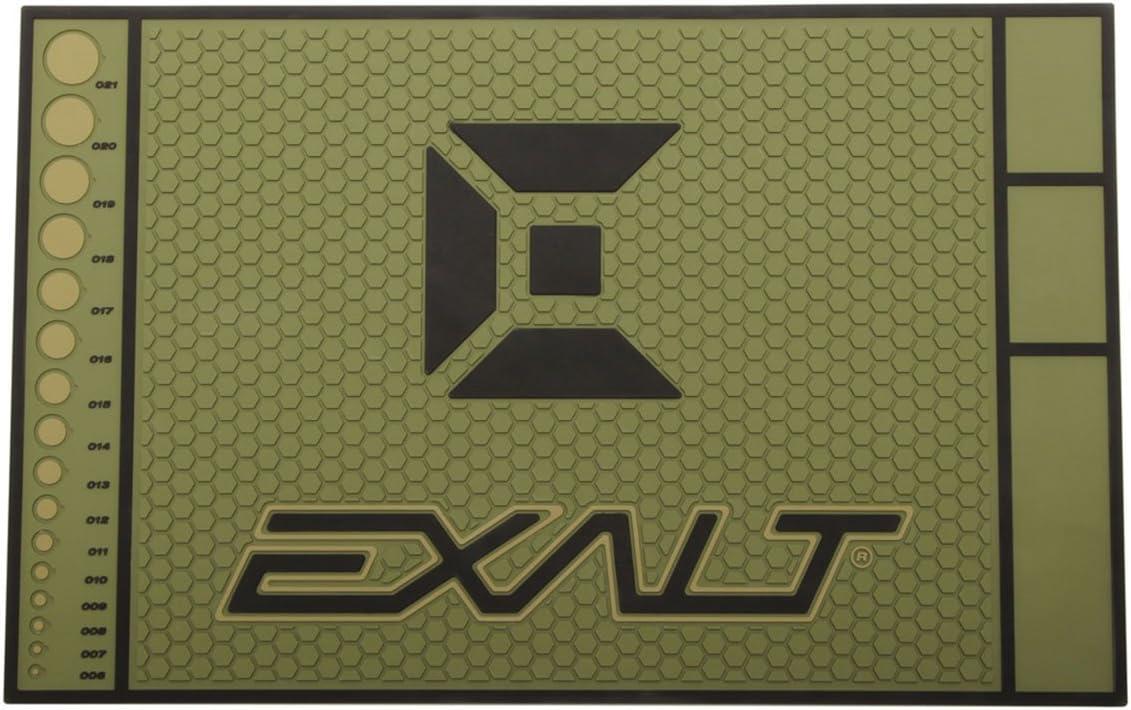 Exalt Paintball HD Rubber Tech Mat - Army Olive