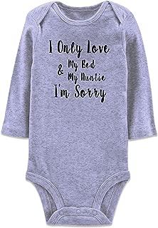 Neutral Baby Girls Boys Cotton Romper Cute Saying Aunt Onesie Newborn Clothes 0-12 Months