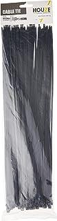 HOUZE DY-8406 Cable Tie, Black, Dim: 4-1000cm