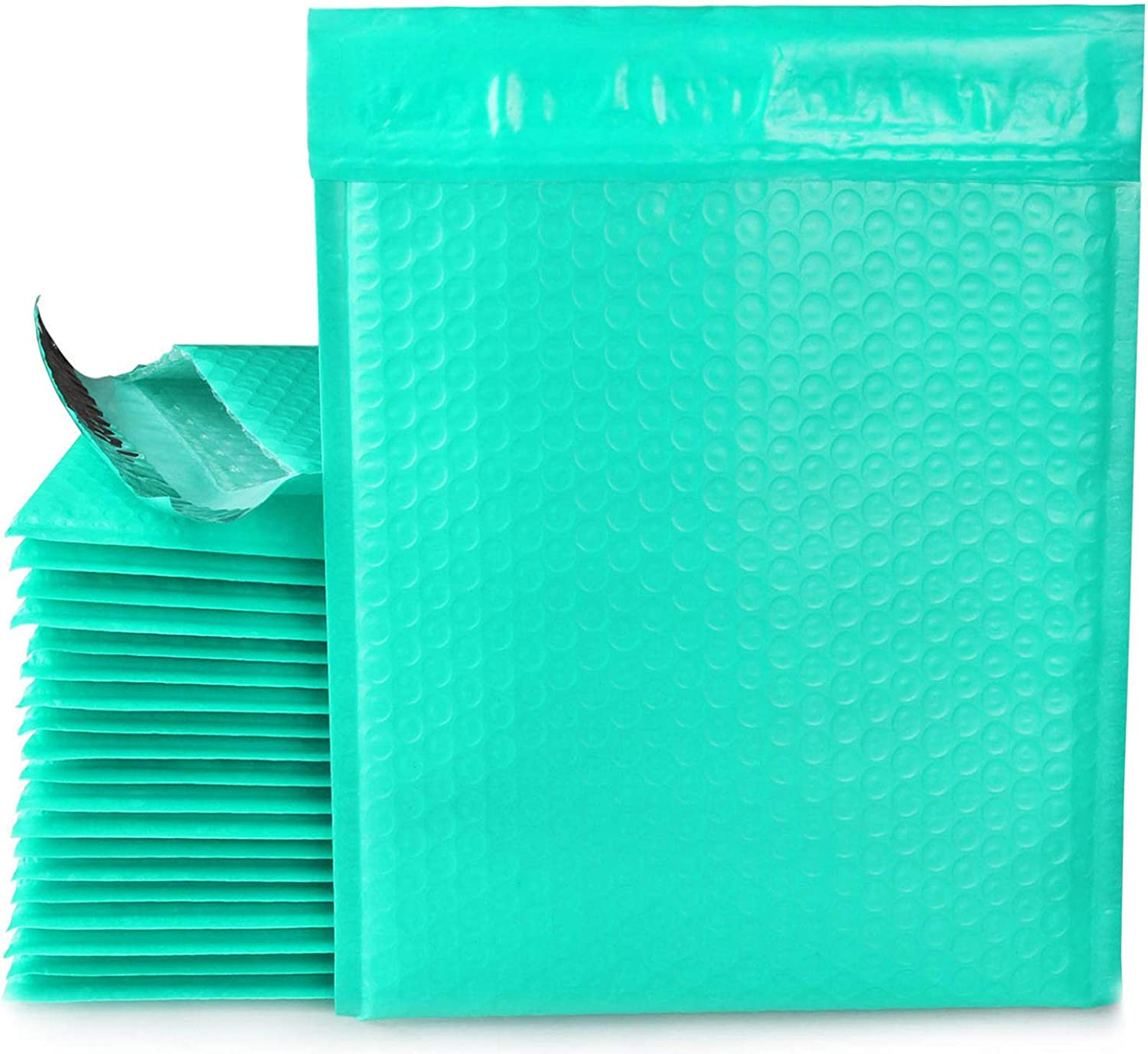 8.5 x Award-winning store 11 Bubble Mailer Max 72% OFF #2 Sea Mailing Teal Self Envelopes Padded