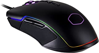 Cooler Master CM310 Gaming Mouse with Ambidextrous Grips, 10000 DPI Optical Sensor, and RGB Illumination
