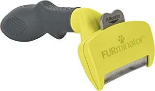 Furminator for Cats Undercoat Deshedding Tool for Cats, Stainless Edge with Fur Ejector