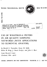 Use of Whatman-41 filters in air quality sampling networks (with applications to elemental analysis)