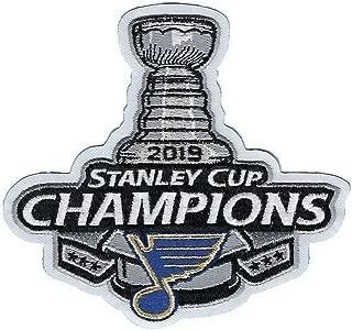 2019 NHL Stanley Cup Final Champions St Louis Blues Commemorative Jersey Patch