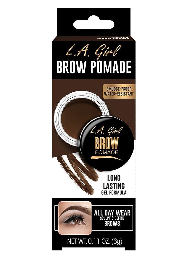 ラウンジ展望台批判するL.A. GIRL Brow Pomade - Dark Brown (並行輸入品)