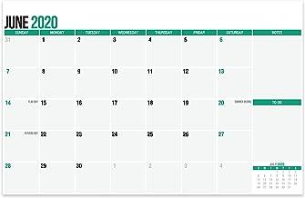 SplightPrints 2020-2021 Large Magnetic Calendar Pad for Refrigerator, June 2020 to..