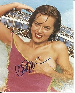GRETA SCACCHI sexy hot tub signed 8x10 photo / UACC Registered Dealer # 212