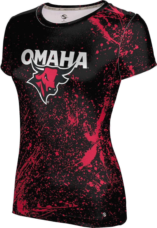 ProSphere University of Nebraska at Omaha Girls' Performance T-Shirt (Splatter)