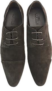 [ルシウス] ビジネスシューズ レースアップシューズ 外メンズ 革靴 本革 レザー 羽根 ロングノーズ ドレスシューズ ストレートチップ 紳士靴 春 靴 [LLT78-1-DPZ ]