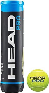 Head PRO, Palline Tennis Unisex Adulto, Giallo, Taglia Unica