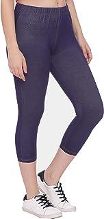 GREENWICH Women's Skinny Fit Capris