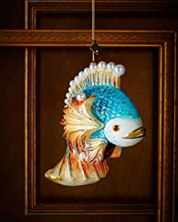 JAY STRONGWATER Fish Christmas Ornament
