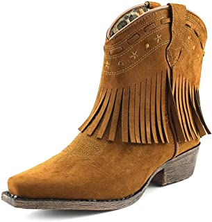 Laredo Kid's Gingersnap Snip Toe Western Fashion Boot