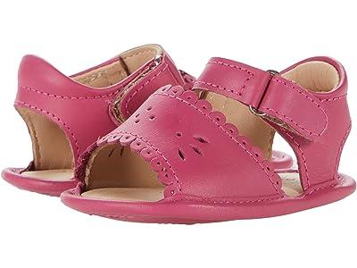Elephantito Sandal W/ Scallop (Infant/Toddler) (Flamingo) Girl