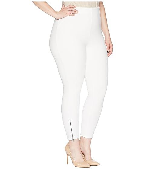 Stretch Plus HUE Simply con cremallera White Tobilleras Size Skimmer 4UYUnqP