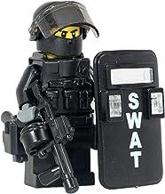 Modern Brick Warfare SWAT Police Riot Control Officer Custom Minifigure
