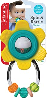 Infantino Spin and Rattle Teether - Pack of 1