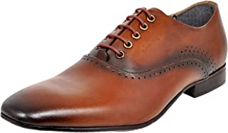 Allen Cooper ACFS-12158 Genuine Leather Oxford Formal Shoes for Men