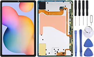 LUZAISHENG LCD Screen and Digitizer Full Assembly Compatible with Samsung Galaxy Tab S6 SM-T860/T865 Touchscreen Replacement