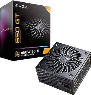 EVGA SuperNOVA 650 GT, 80 Plus Gold 650W, Fully Modular, Auto Eco Mode with FDB Fan, 7 Year Warranty, Includes Power ON Se...