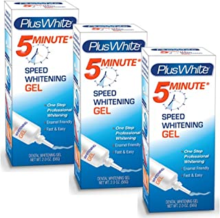 Plus White Premier 5 Minute Speed Whitening Gel (Pack of 3)