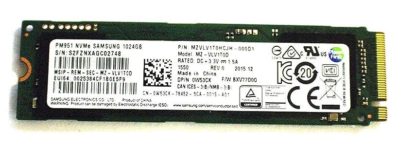 見る安いです値するITSL Dell W53CK Samsung MZ-VLV1T0D PM951 1TB (1024GB) Express Gen3 NVMe M.2 SSD