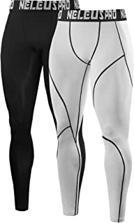 Men's Dry Fit Compression Pants Workout Running Leggings