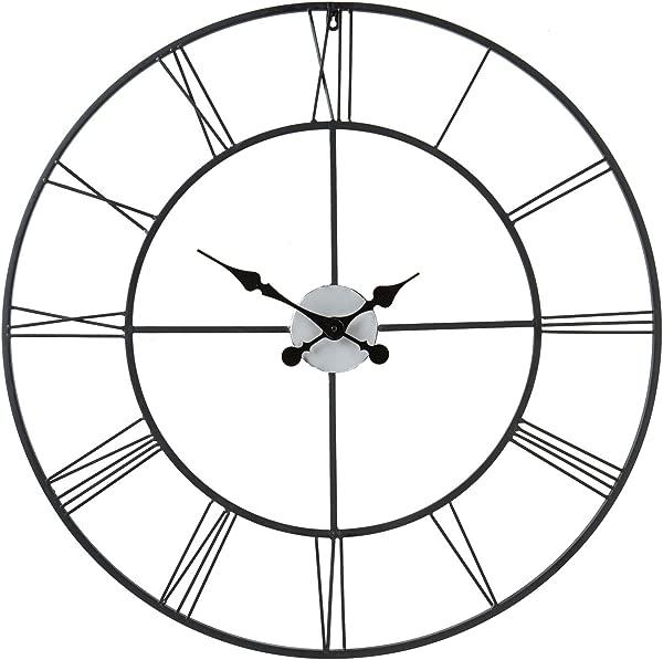 Centurian Decorative Large Wall Clock Roman Numerals Classic Numeral Design