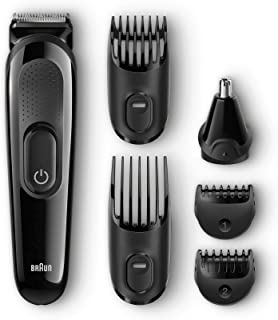 Braun Multi Grooming Kit MGK3020 – 6-in-1 Face And Head Trimming Kit