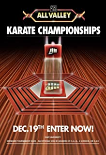 SAVA 72192 Karate Kid Tournament All Valley from 1984 Movie Decor Wall 24x18 Poster Print