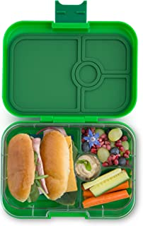 Yumbox Panino Leakproof Bento Lunch Box Container for Kids & Adults (Terra Green)