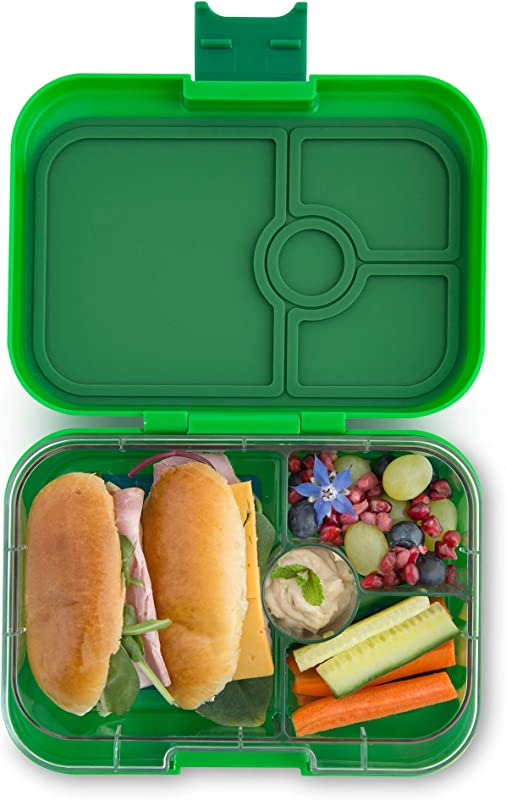 Yumbox Panino Leakproof Bento Lunch Box Container For Kids Adults Terra Green