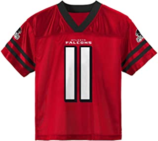 Outerstuff Julio Jones Atlanta Falcons #11 Red Youth Home Player Jersey