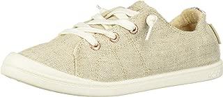 Roxy Women's Bayshore Slip On Sneaker Shoe, Olive Night, 7.5 M US