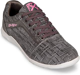 KR Strikeforce Womens Nova Lite Bowling Shoes- Ash/Hot Pink (8 M US, Ash/Hot Pink)
