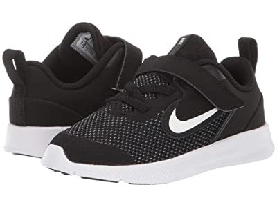 Nike Kids Downshifter 9 (Infant/Toddler) (Black/White/Anthracite/Cool Grey) Boys Shoes