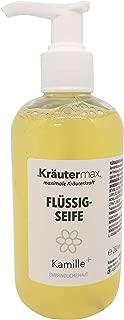 Kamille-Seife 1 x 250 ml - Kamille-Flüssig - Kamille-Extrakt