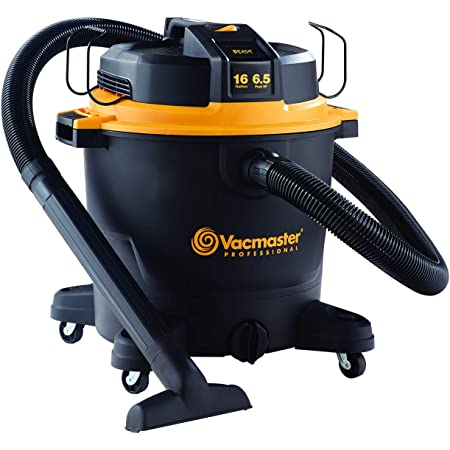 "Vacmaster Professional - Professional Wet/Dry Vac, 16 Gallon, Beast Series, 6.5 HP 2-1/2"" Hose (VJH1612PF0201), Black"