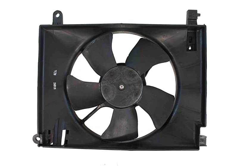 Genuine GM Parts 96536522 Radiator Cooling Fan Assembly