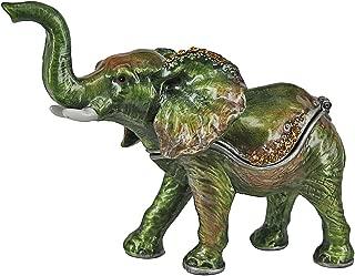 RUCINNI Elephane (Green) Trinket Box