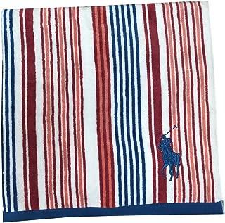 Polo Ralph Lauren Big Pony Logo Beach Towel (White/red/Blue)